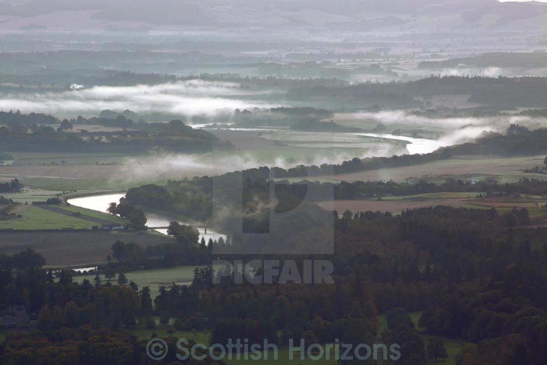 """Birnam Hill"" stock image"