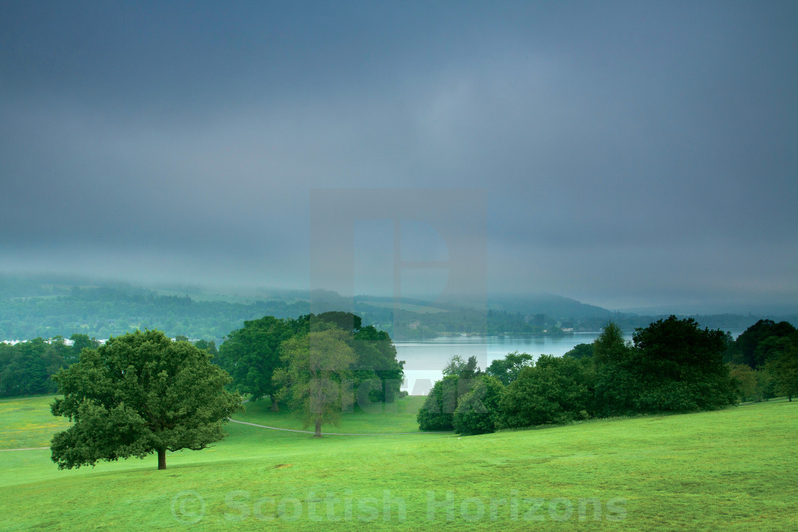 """Balloch Castle Country Park"" stock image"