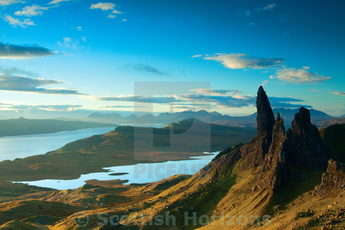 """The Storr"" stock image"