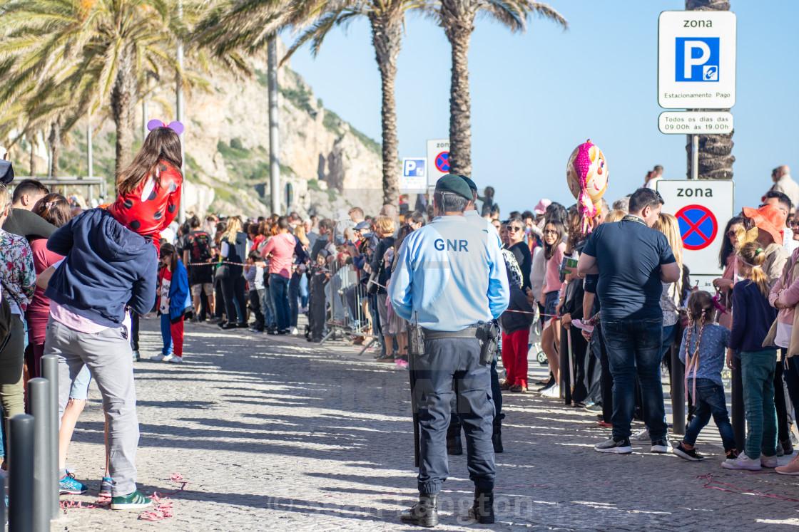 """Carnaval de Sesimbra"" stock image"