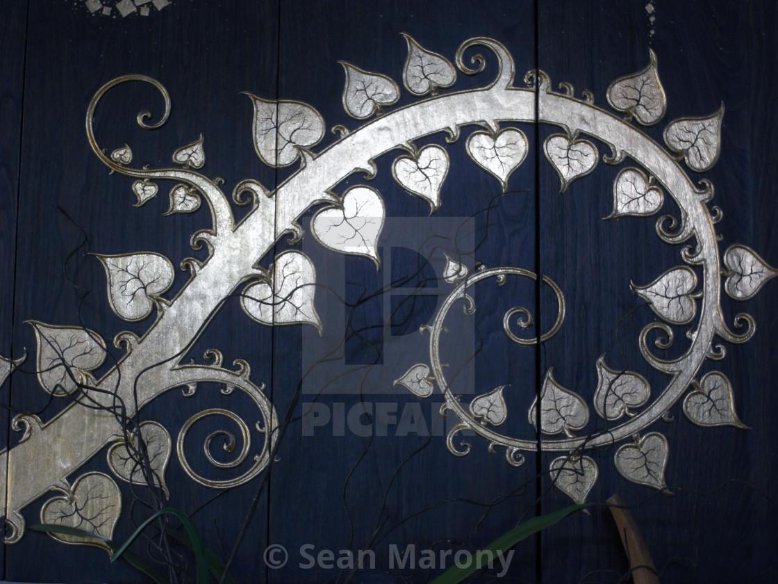 """Spiral flower"" stock image"