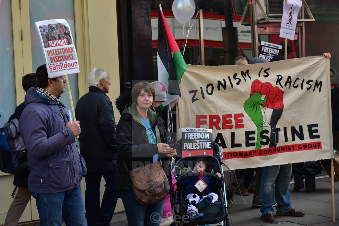 """Palestine's Land Day in London, UK"" stock image"