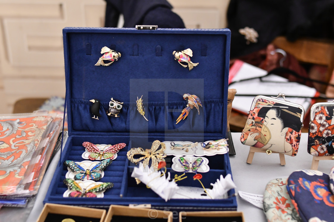 """Winter blossom fair: A celebration of east asian art, craft and design,..."" stock image"