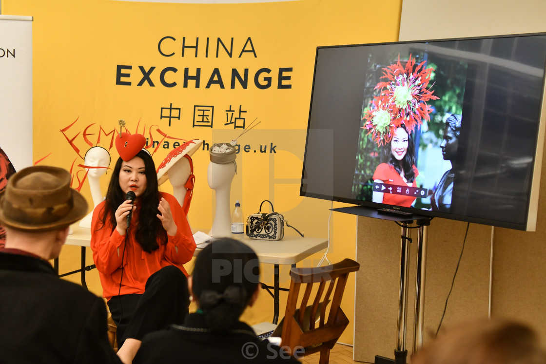 """""""Winter blossom fair: A celebration of east asian art, craft and design,..."""" stock image"""