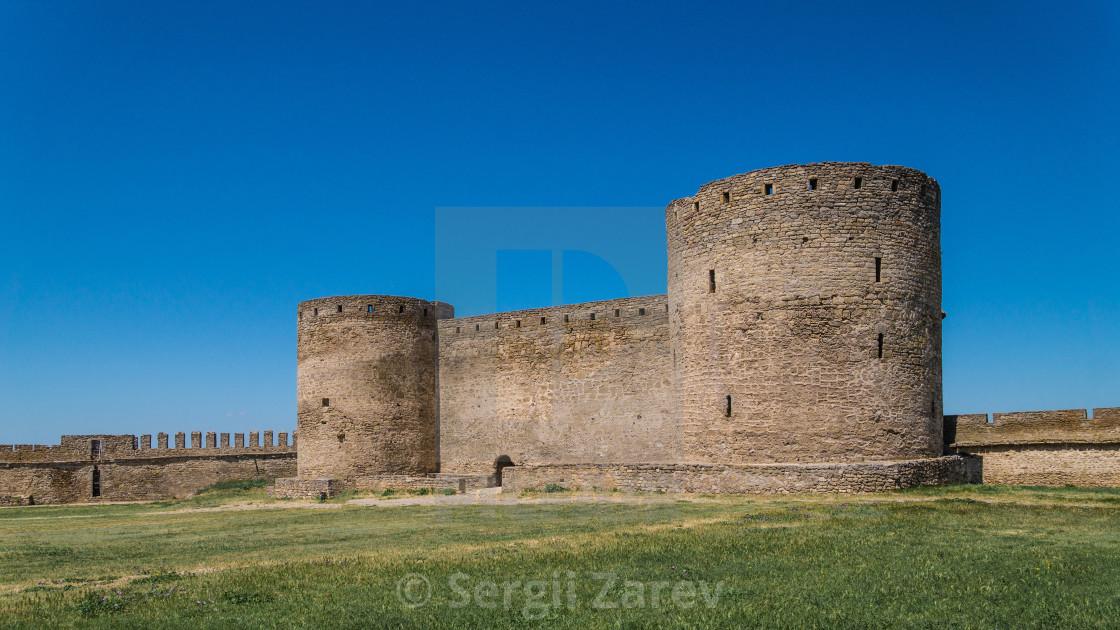 """Akkerman Fortress near Odessa city in Ukraine"" stock image"