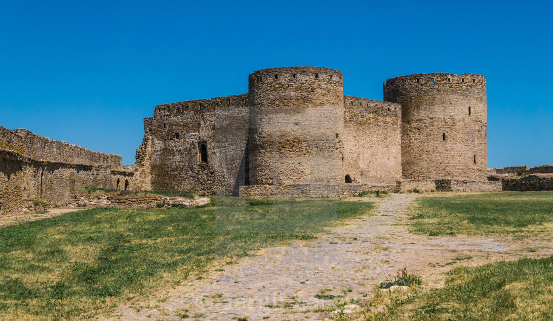 """Akkerman Fortress near Odessa city in Ukraine"" stock image"