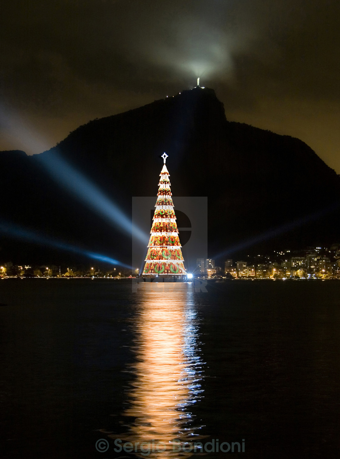 """Christmas in Rio 7"" stock image"