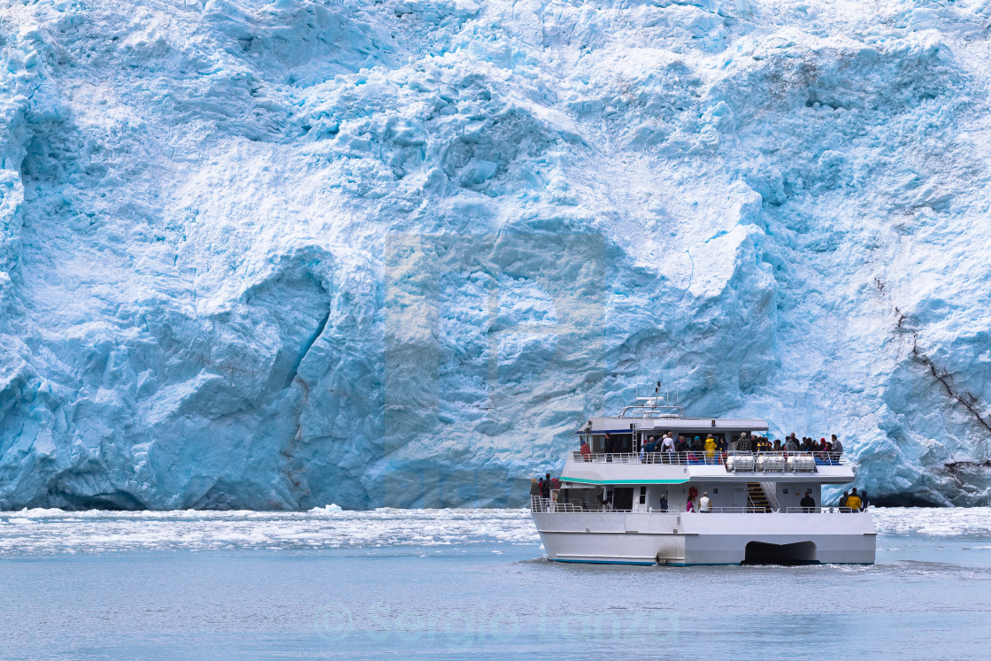 """Glacier view"" stock image"