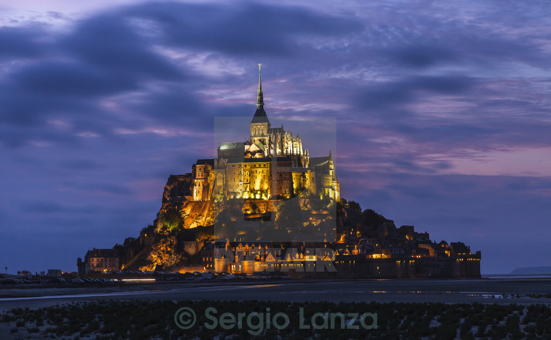"""Mont Saint-Michel"" stock image"