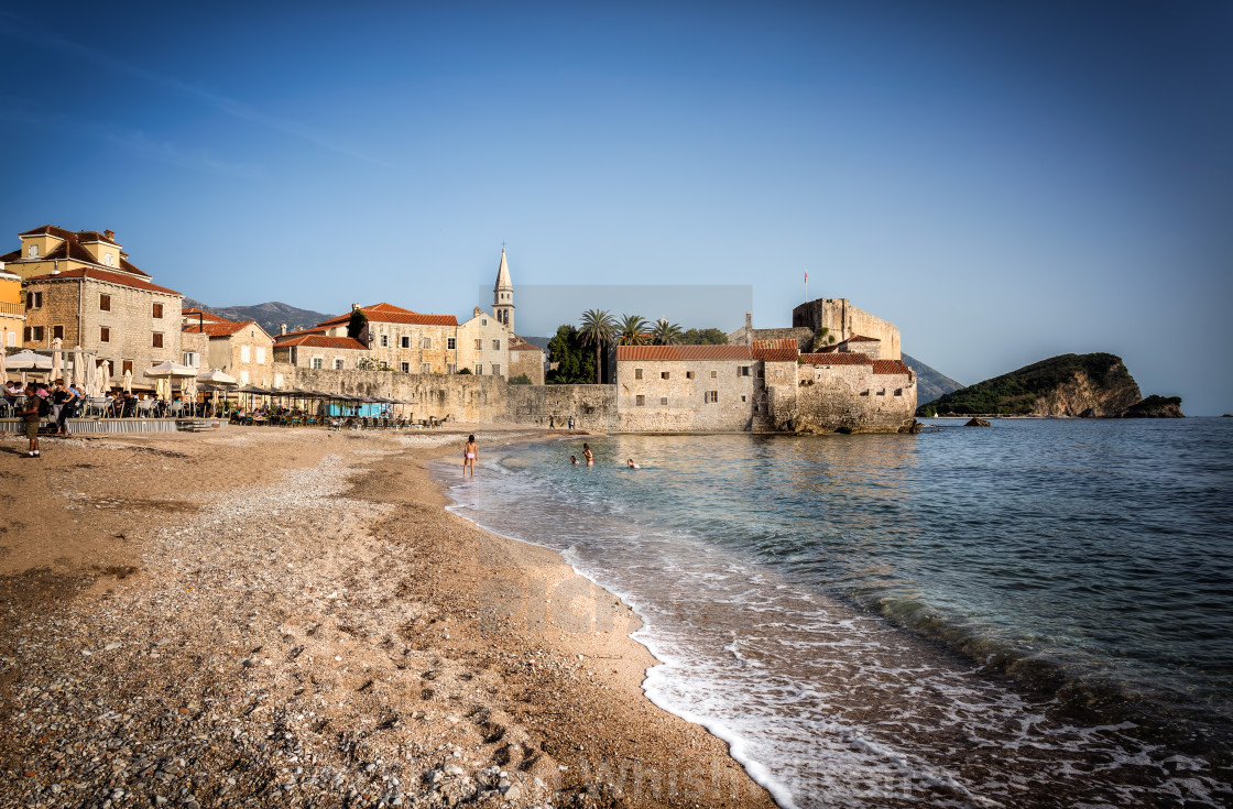 """Budva Beach"" stock image"