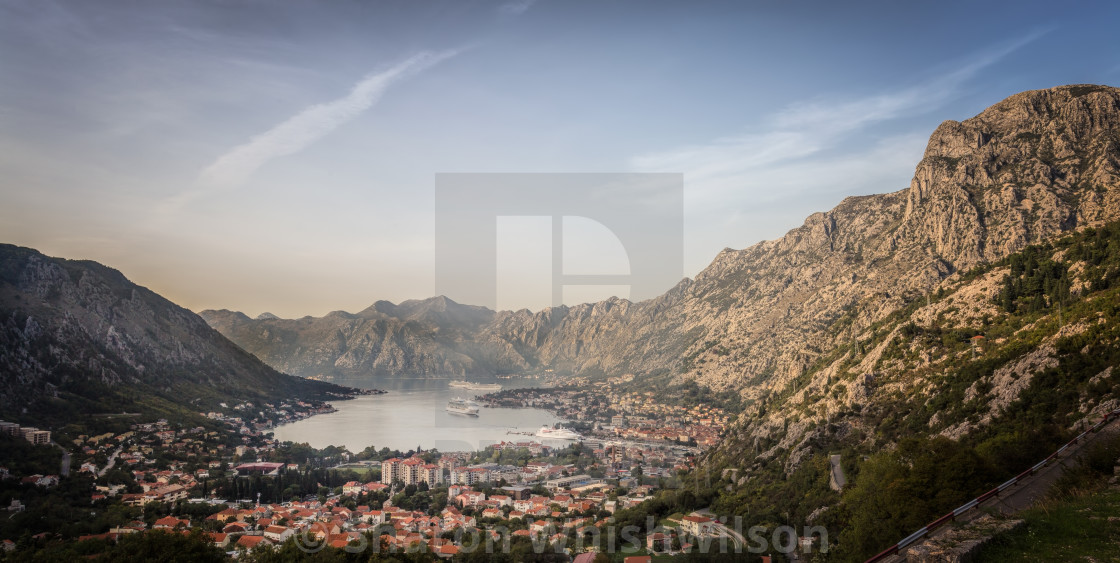 """Kotor Bay"" stock image"