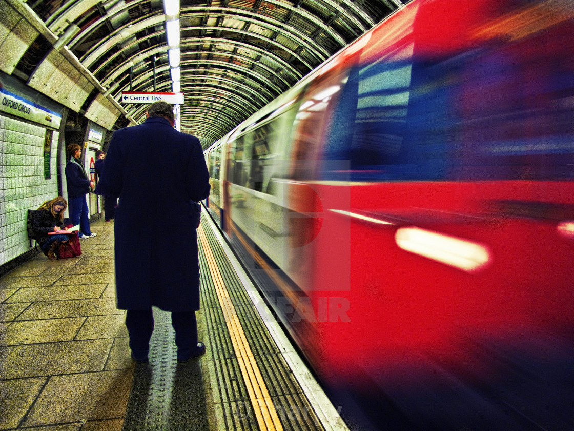 """London Underground"" stock image"