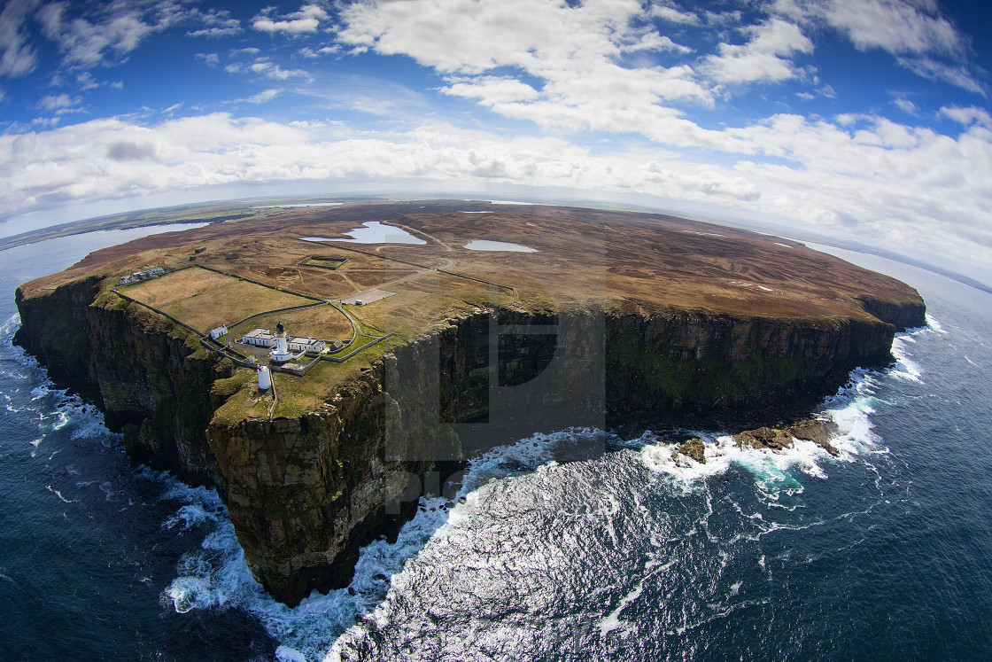 """Dunnet Head"" stock image"