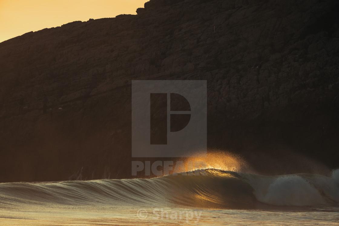 """Portugal Last Light"" stock image"