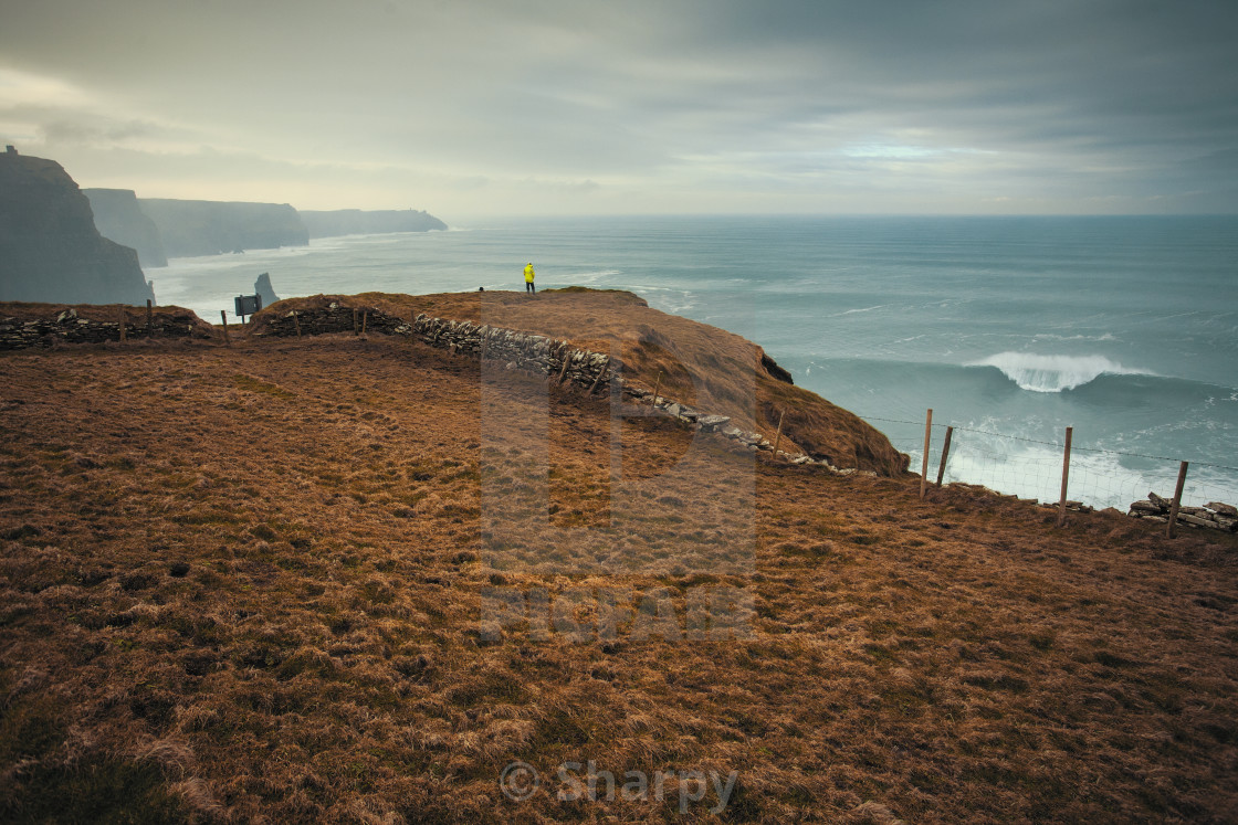 """""""The Cliffs"""" stock image"""