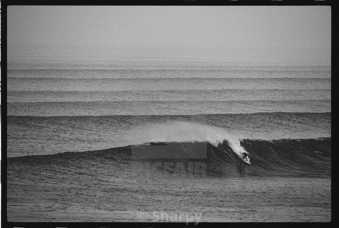 """Moody Irish Surf"" stock image"