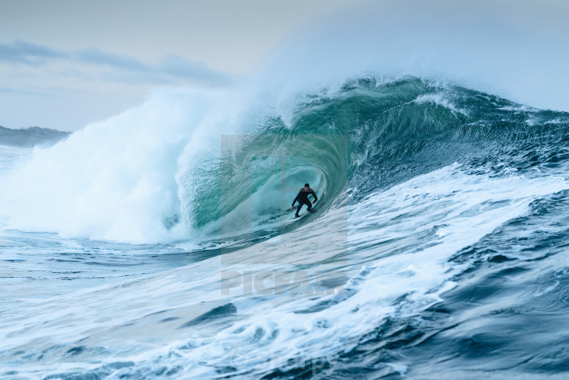 """Irish Surf 2"" stock image"