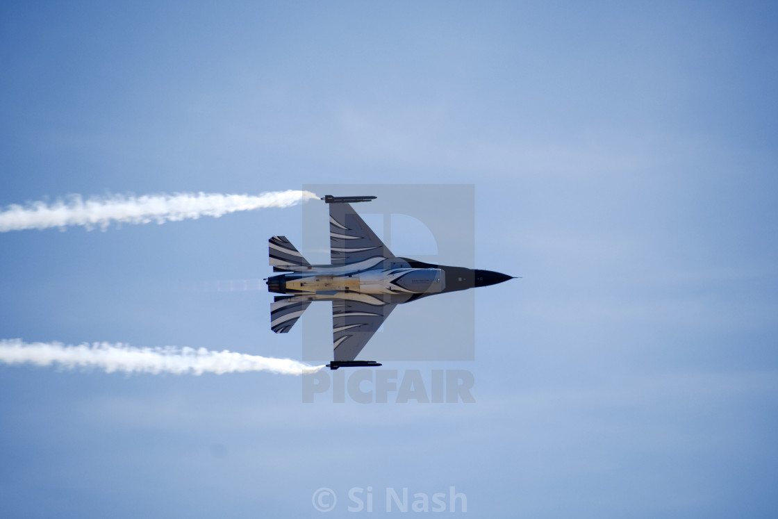 """F-16 Fighting Falcon"" stock image"