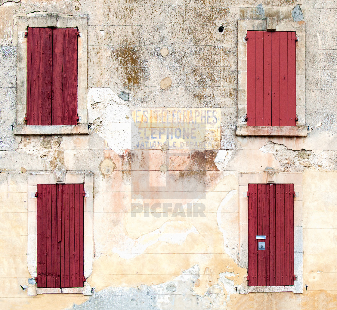 """""""Old Provence, France"""" stock image"""