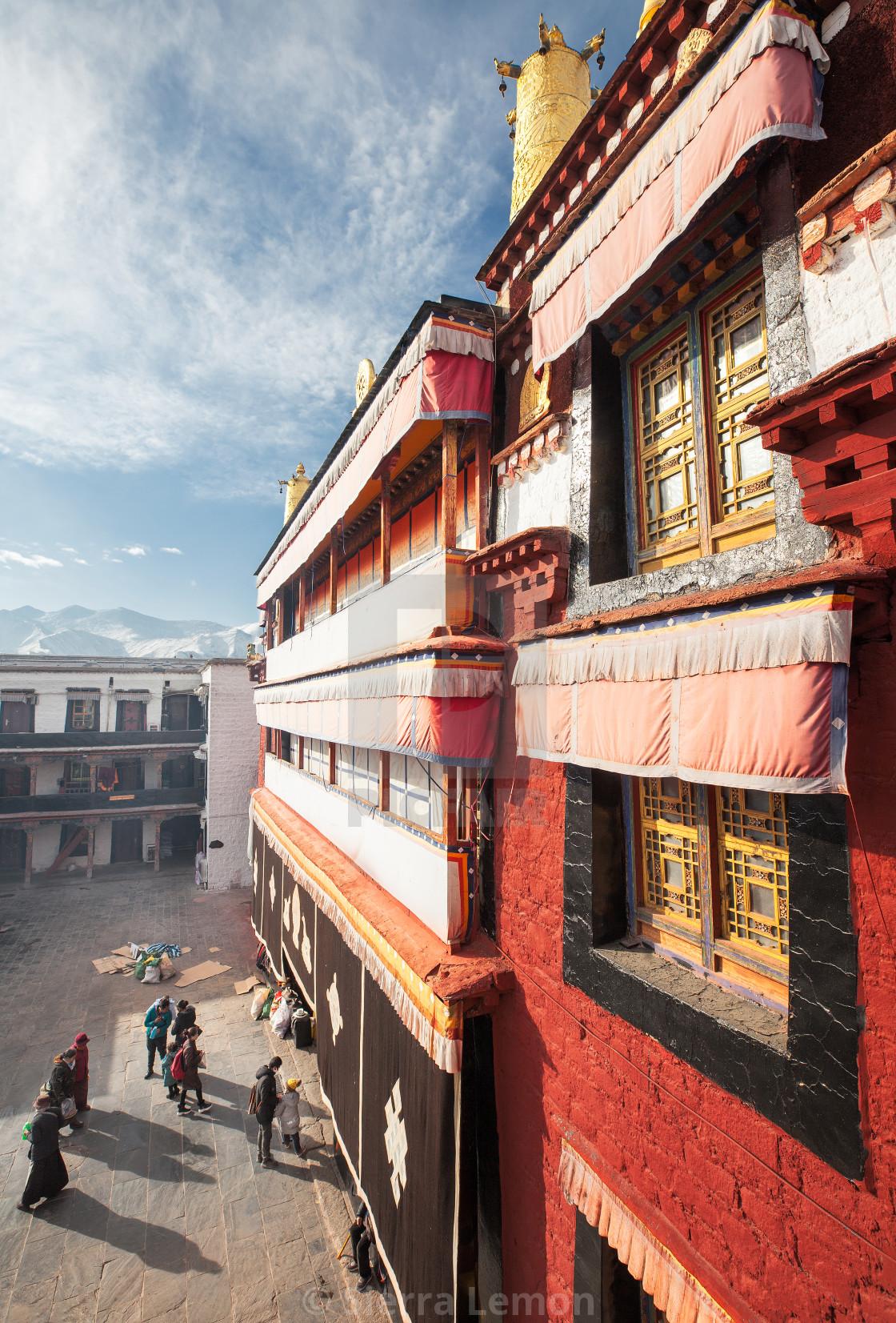 """Ramoche Temple, Lhasa, Tibet"" stock image"