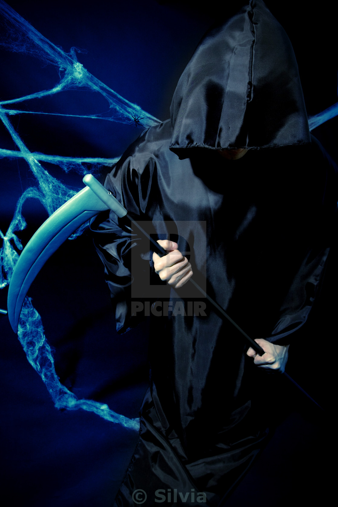 """""""Crepy man in disguise"""" stock image"""