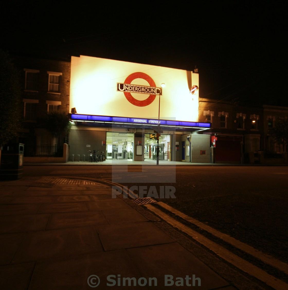 """Arsenal Tube"" stock image"