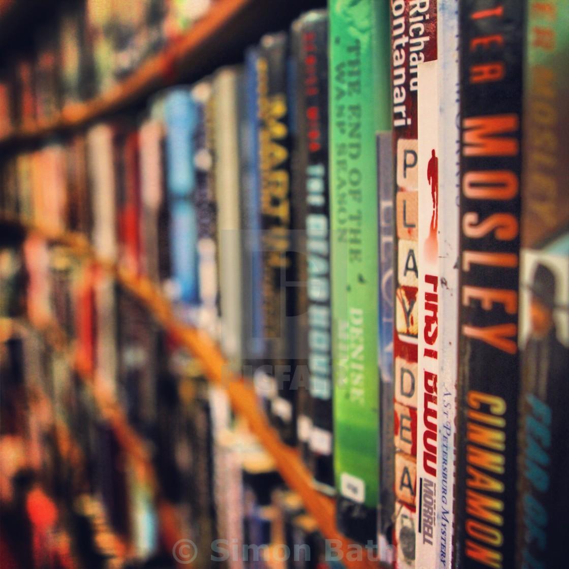 """Books #1"" stock image"