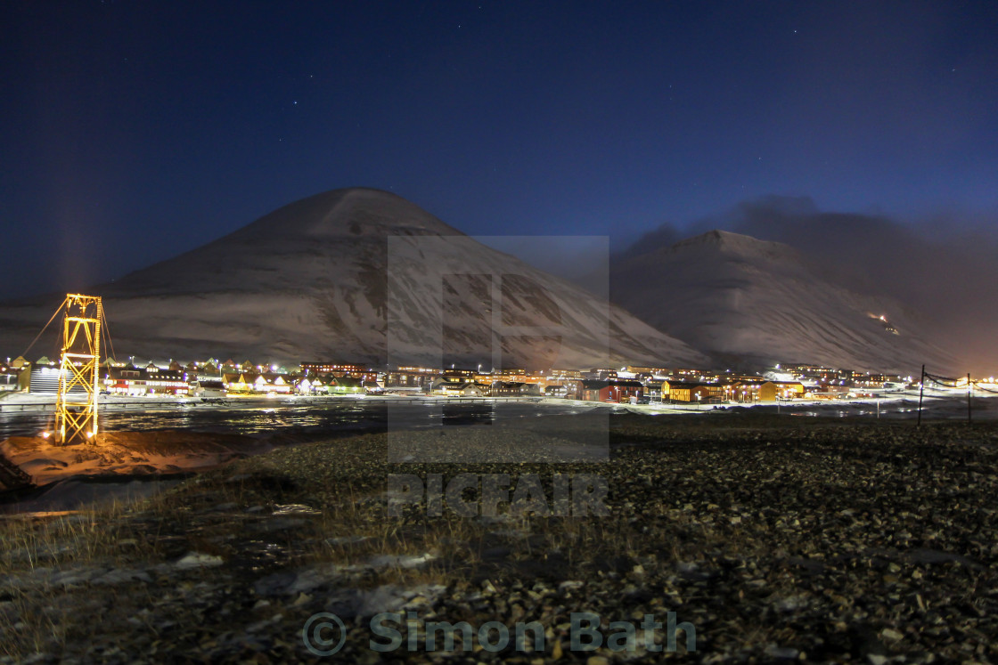 """Longyearbyen, Svalbard"" stock image"