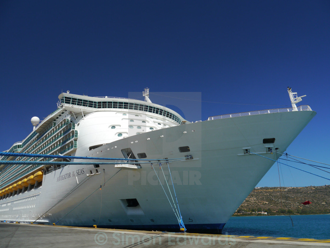 """Navigator of the Seas"" stock image"
