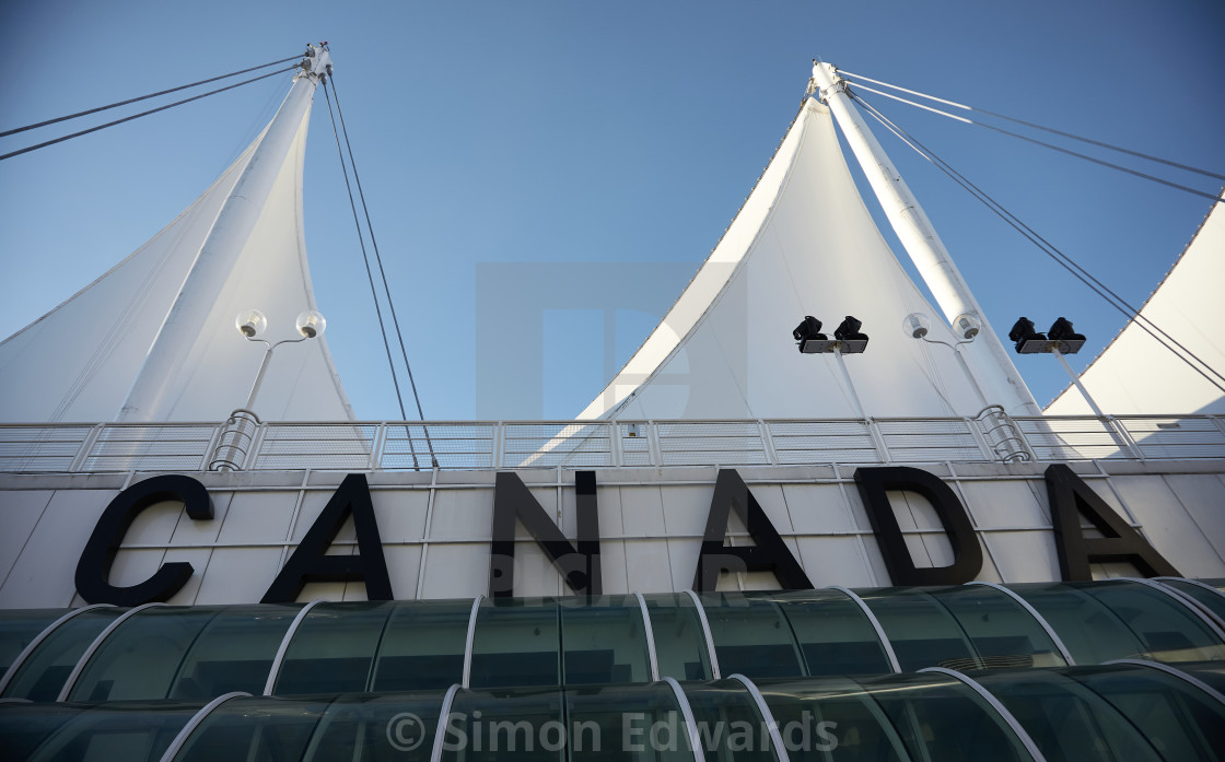 """Canada Sign, Vancouver"" stock image"