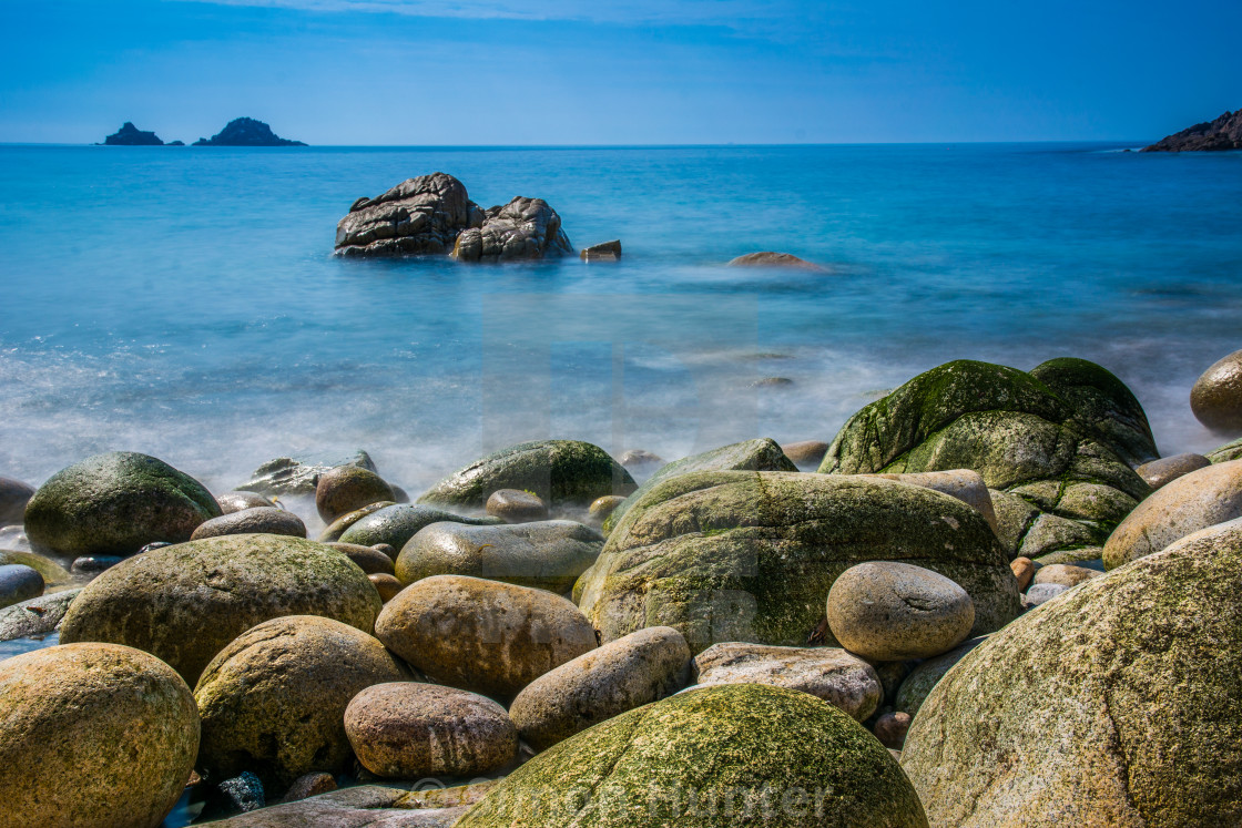 """Porth Nanven Cornwall"" stock image"