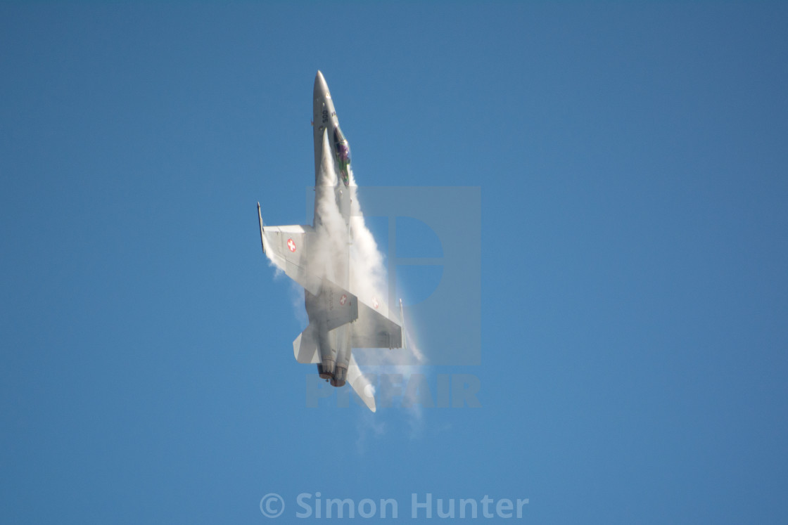 """Swiss F18"" stock image"