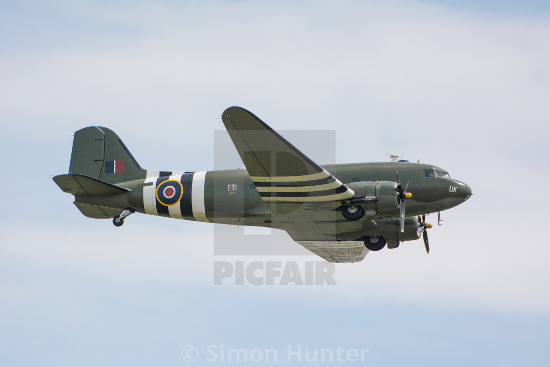 """BBMF Dakota"" stock image"