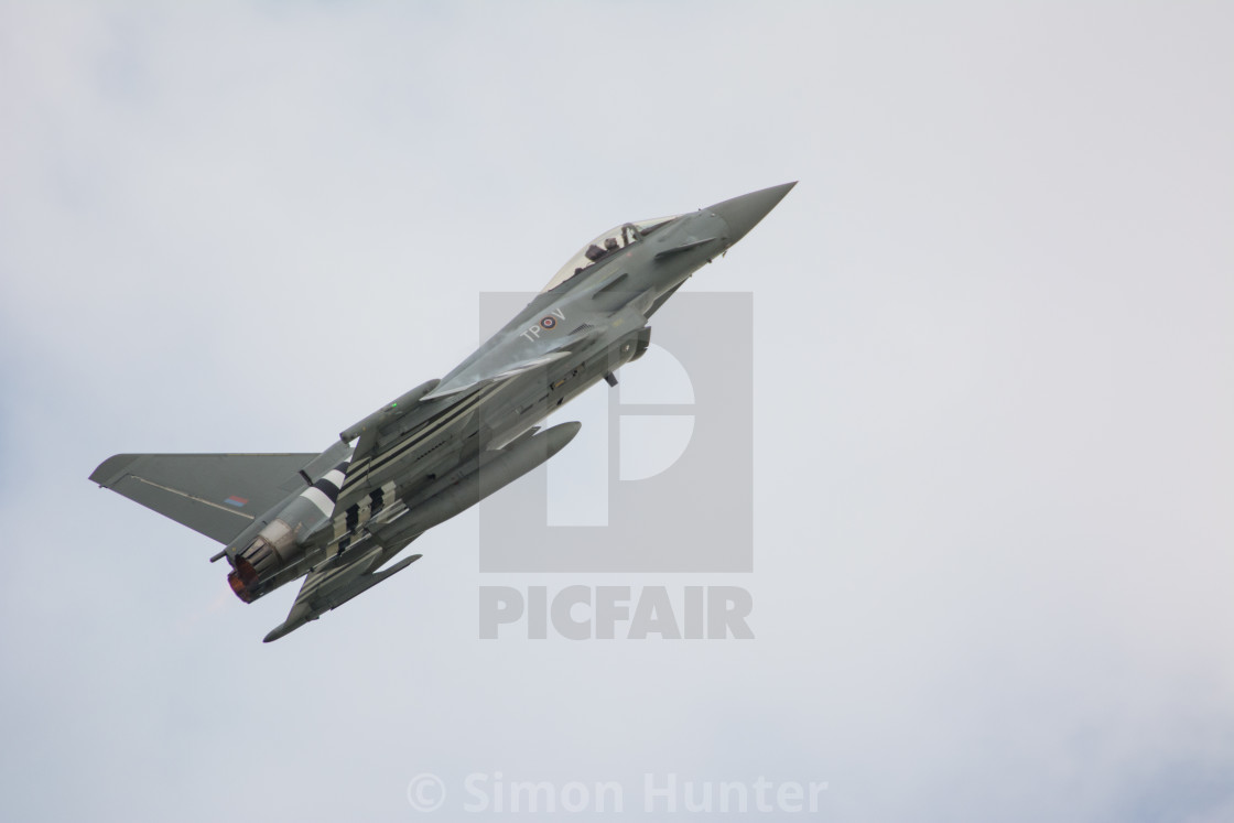 """Typhoon in action"" stock image"