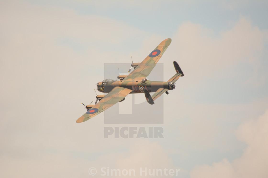 """BBMF Lancaster"" stock image"