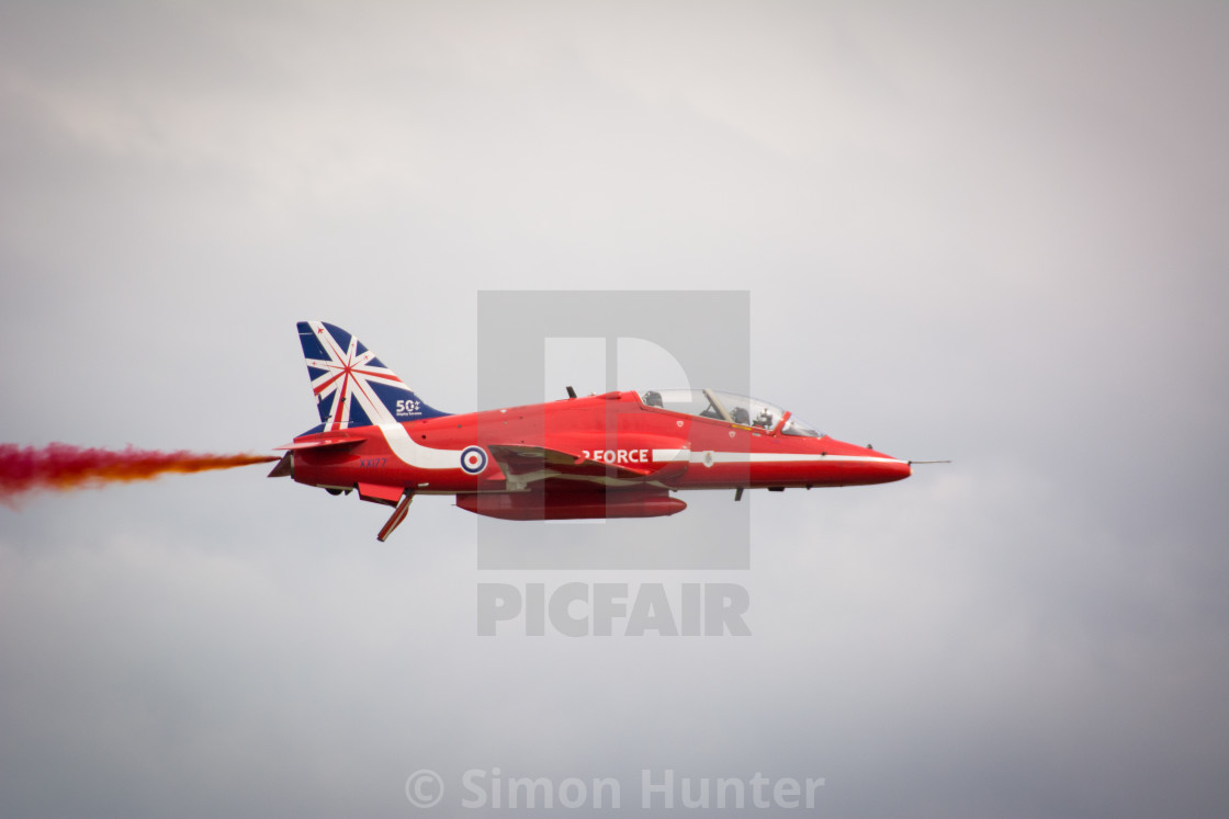 """Solo Red Arrow"" stock image"