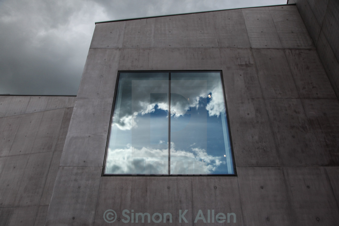"""Cloud Window"" stock image"