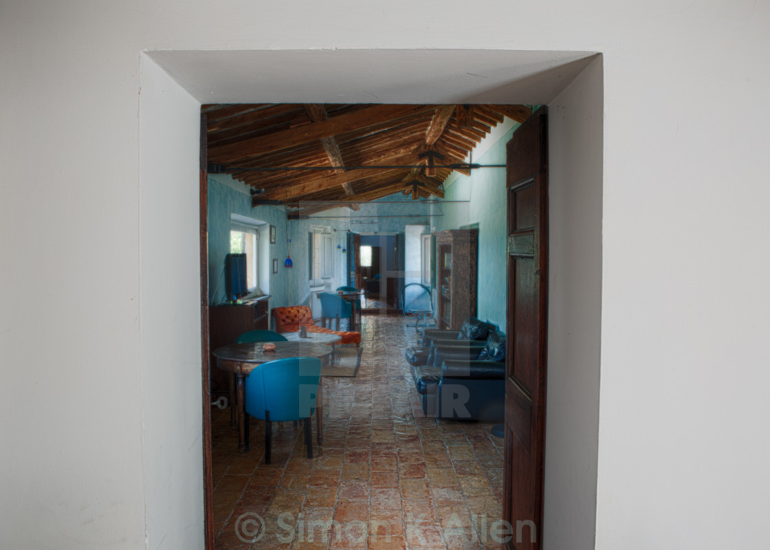 """Italian Drawing Room"" stock image"
