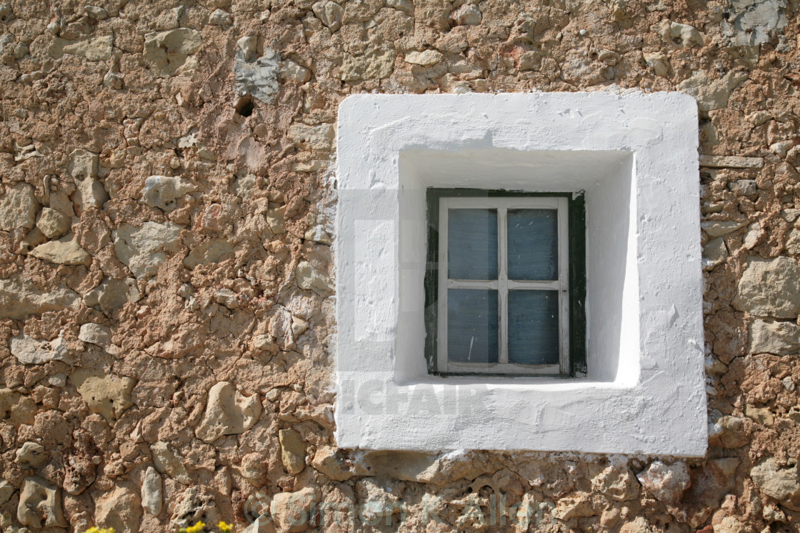 """Square Window"" stock image"