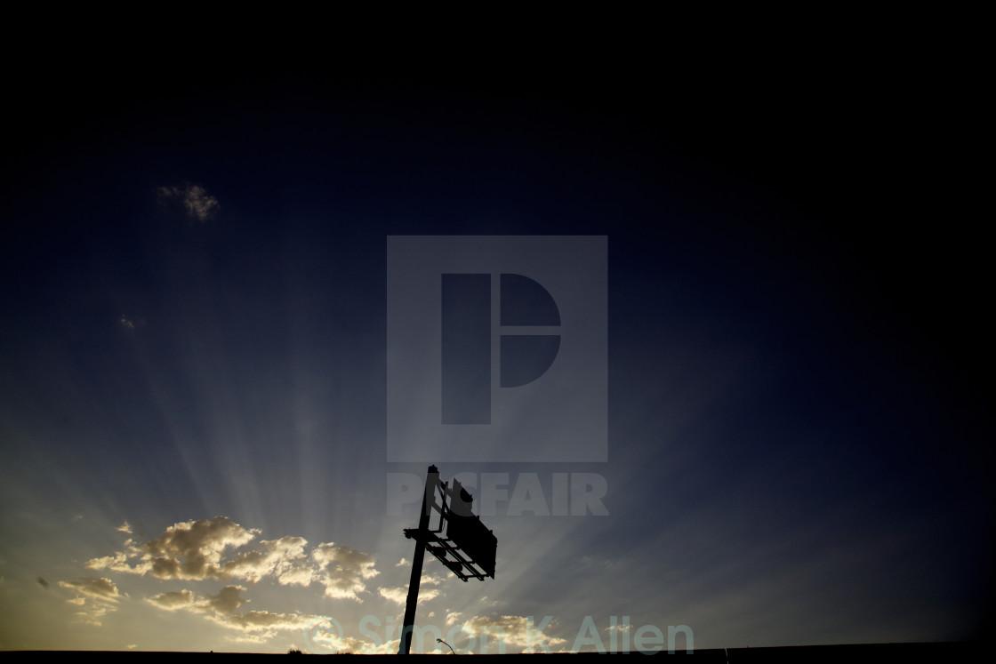 """""""Reno Sunrise"""" stock image"""