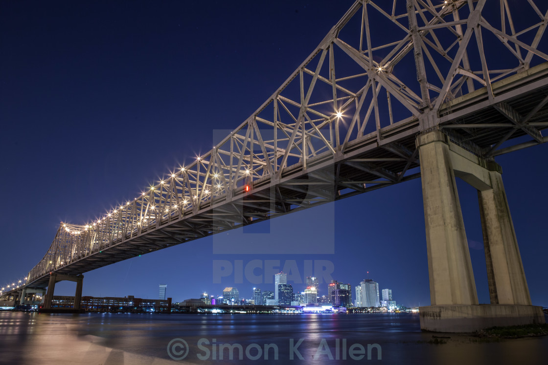 """""""Crescent City Connection"""" stock image"""