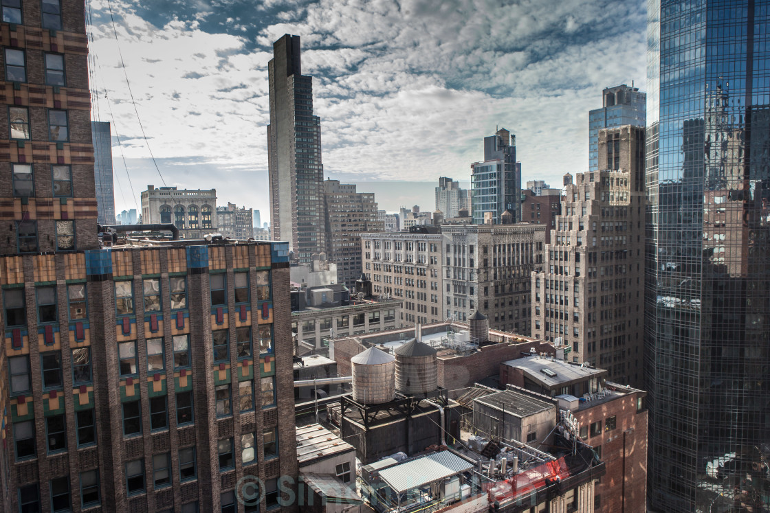 """Midtown Manhattan"" stock image"