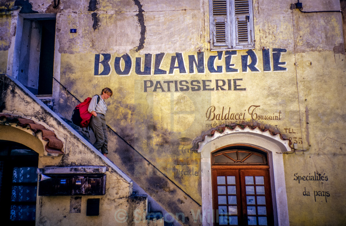 """Boulangerie Corsican"" stock image"