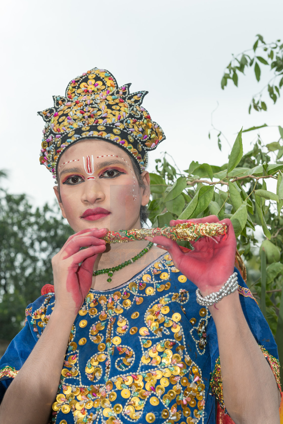 """Janmashtami - Krishna"" stock image"