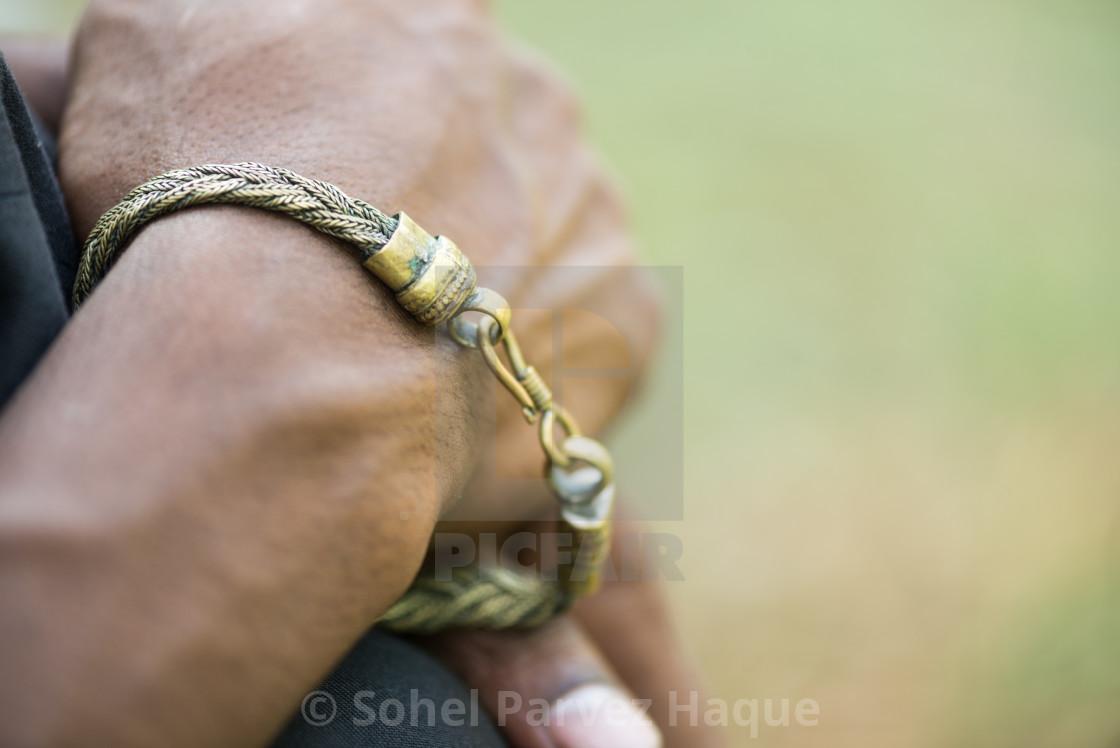 """Bracelet Chain"" stock image"
