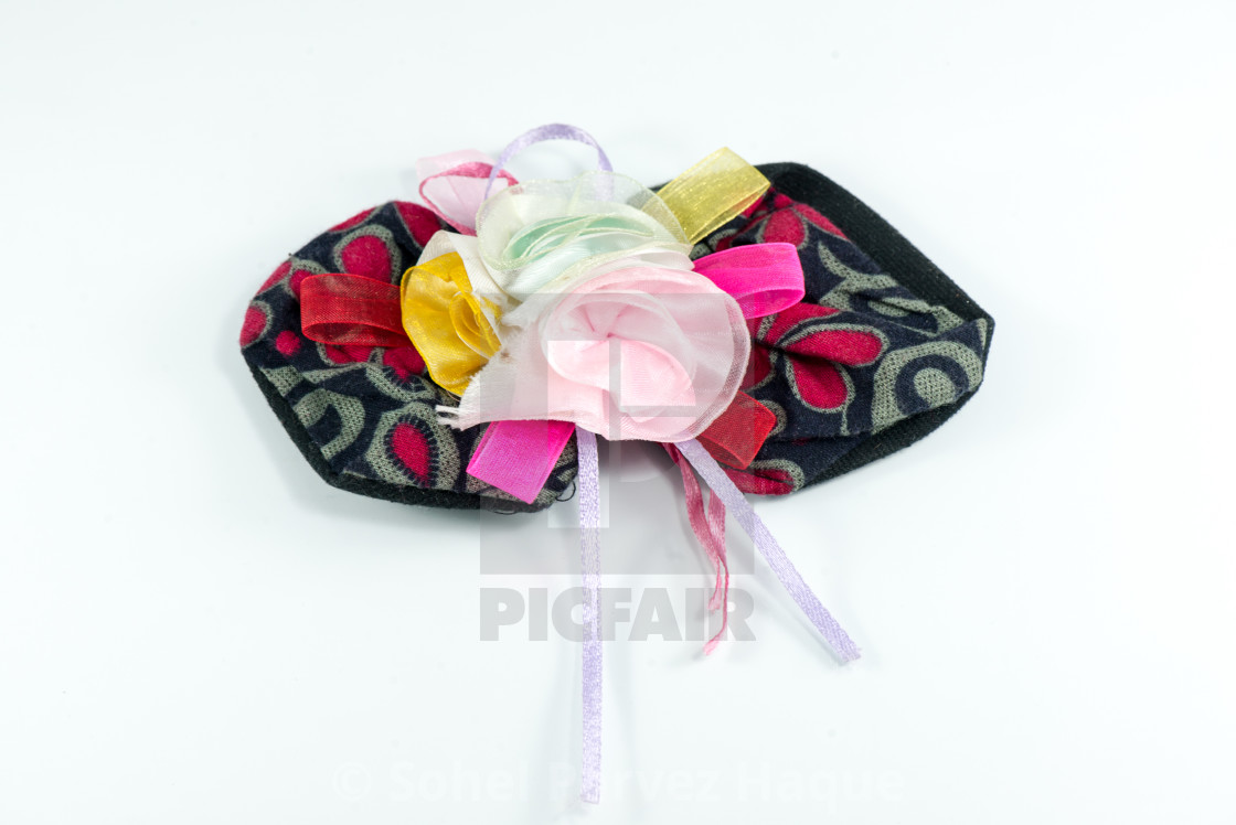 """""""Assortment of pretty hair bows"""" stock image"""
