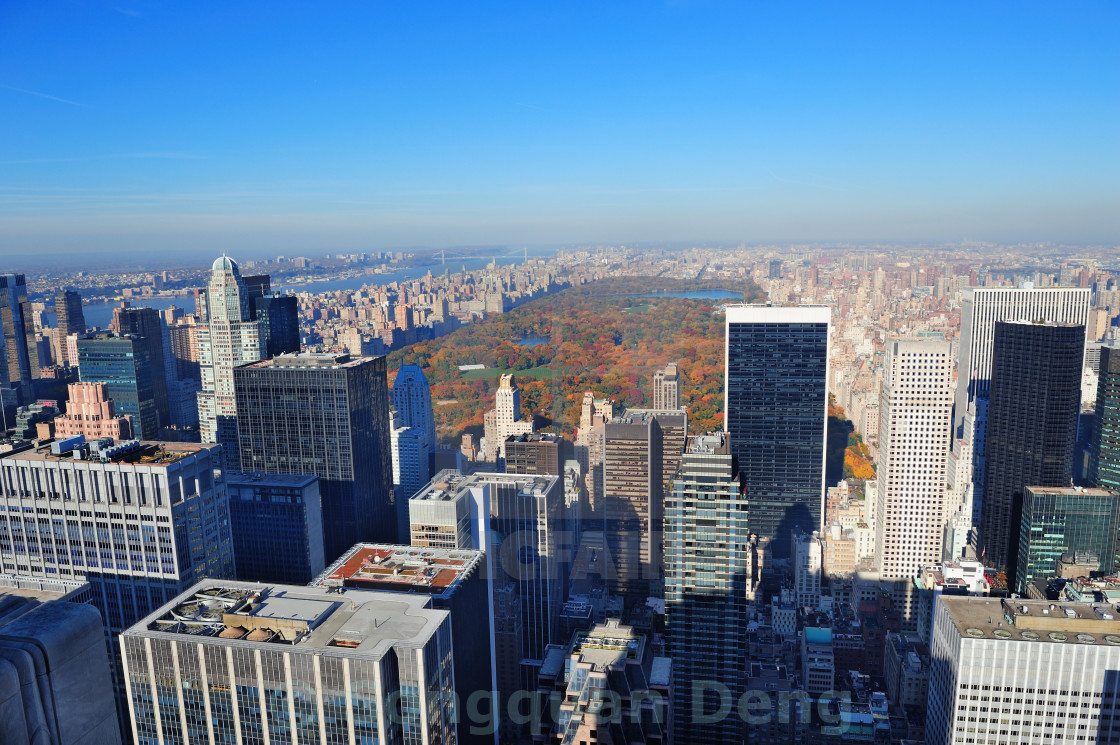 """New York City Manhattan"" stock image"