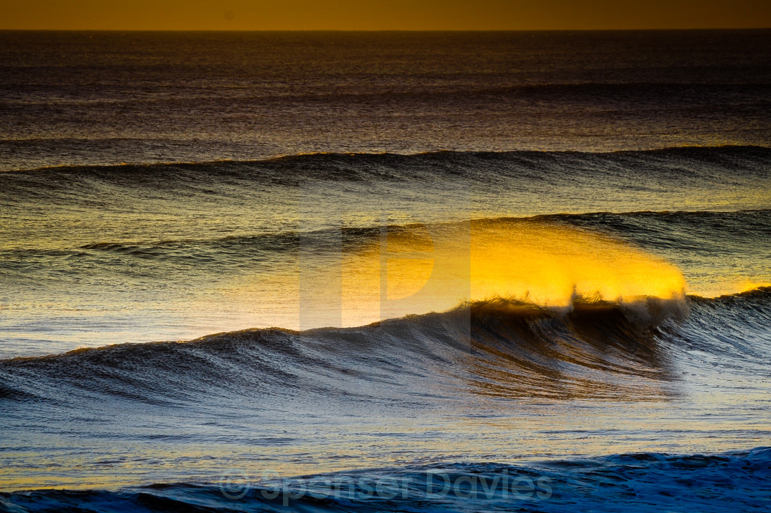 """Evening Swell"" stock image"