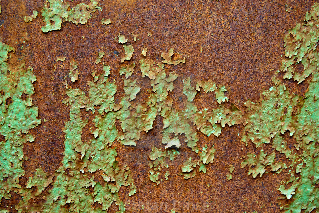 """""""old weathered oxidated metal pattern"""" stock image"""