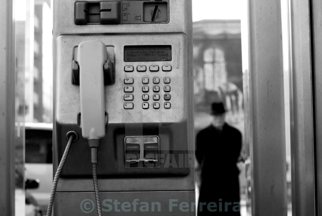 """Caller, ID"" stock image"